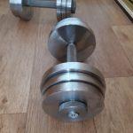 Гантели 2 шт по 16 кг разборные новые