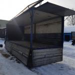 Перевозка грузов. Фургон 40 м.куб. до 10 тонн