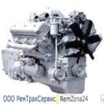 Двигатель ДВС ЯМЗ 236 из ремонта с обменом (новая поршневая, вал кол. Р
