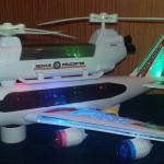 Интерактивная игрушка самолётик