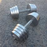Гантели новые 20 кг разборные 140 руб