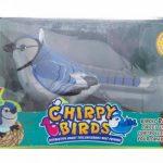Интерактивная игрушка поющая птичка Chirpy Birds
