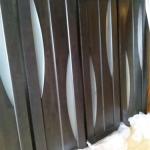 Двери Межкомнатные Вудрев из сосны, цвет Венге