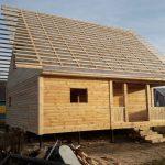 Строим Дома и бани из проф.бруса по доступной цене. Ляховичи