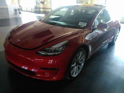 Tesla, 3 AWD 4D SEDAN PERFORMANCE, 2018