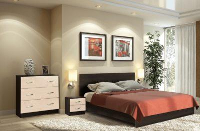 Комплект для спальни Онтарио Мини