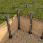 Фундамент на сваях установка в Березино и рн
