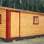 Продам сруб Дома-Бани 8х6 м с установкой в Крупках