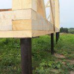 Свайный Фундамент. Дом/Баня под ключ в Мостах и рн