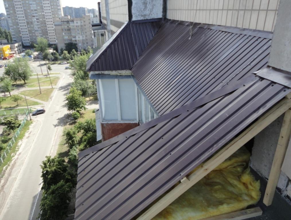 Козырек навес для балкона