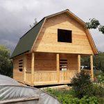 Строим Дома и бани из профилированного бруса. Жабинка
