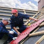 Разнорабочий на крыши