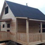Дом из бруса сруб 7х8м Быстро- качество на 100%
