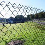 Забор из сетки-рабица диаметр проволки 1.8мм под ключ