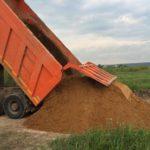 Песок с доставкой от 1 до 20 тонн