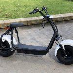 Электрический скутер (самокат) Citycoco White-3000w