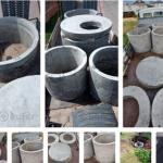 Продаём кольца канализационные 1 м, 1.5 м, 2 м, крышки