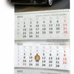 Календари стерео-варио