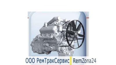 Ремонт двигателя двс ЯМЗ-236БЕ2-6