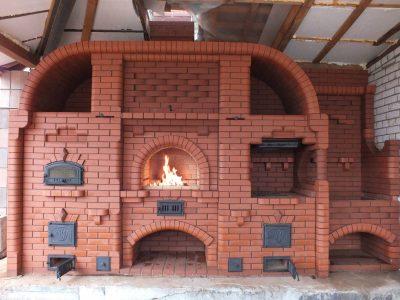 Кладка:Печь, Камин, Барбекю в Жодино и районе
