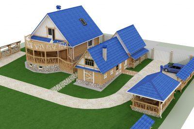 Строительство домов/ бань/ беседок под ключ от 10 дней