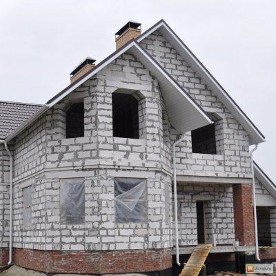Стоительство домов из блоков под ключ в Воложинском р-не