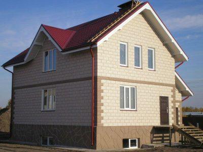 Стоительство домов из блоков под ключ в Жодино и р-не