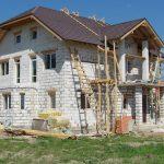 Стоительство домов из блоков под ключ в Вилейском и р-не