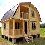 Строительство каркасных домов, бань, дачных домов из бруса