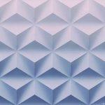Стеновая 3д ( 3d) панель гексакуб (500*500)