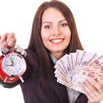 Деньги в долг под расписку и залог!