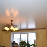 Натяжной потолок, моментальный выезд на замер в Воложин