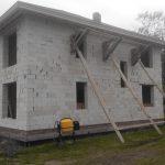 Стоительство домов из блоков под ключ в Ивенце и р-не