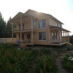 Строительство каркасных Домов под ключ в Крупском районе