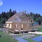 Строительство каркасных домов коттеджей под ключ в Столбцах