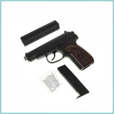 Модель пистолета G.29 Макарова (Galaxy) с глушителем