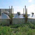 Бункер насыпной из нержавеющей стали