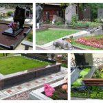 Благоустройство могил и надмогильных сооружений