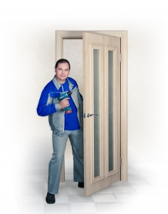 Установка порталов и дверей с доборов в комнатах