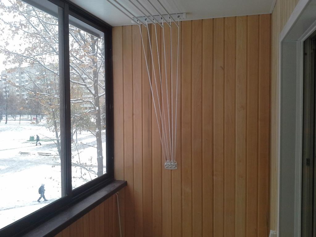 Качественный ремонт балкона под ключ