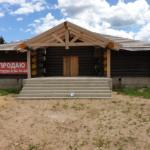 Продаю незавершенный строительством деревянный дом с участком в стиле ранчо
