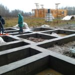 Монолитные работы, Фундаменты для дома под ключ в Березе