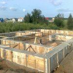 Фундамент, Подьем Домов, Строим дома под ключ в Кобрине