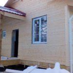 Каркасный дом 7х9м по проекту Тайга под ключ