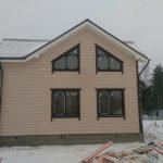 Каркасный дом 13х8м по проекту Витязь под ключ