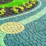 Укладка тротуарной плитки,бордюры Копыльский район от 50 м2