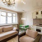 2-комнатная квартира в 150 м от метро Грушевка на Щорса 11