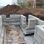 Монолитные работы, фундаменты под клю в Барановичском р-не