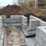 Фундамент, Подьем Домов, Кладка блока кирпича в Барановичах