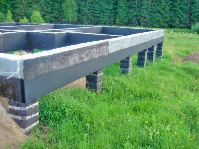 Монолитные работы, фундаменты под ключ в Копыльском районе